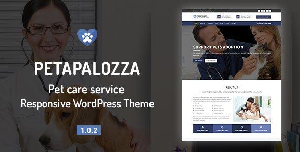 Pet Care Service WordPress Theme
